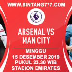 BIG MATCH Arsenal vs Manchester City 15 Desember 2019